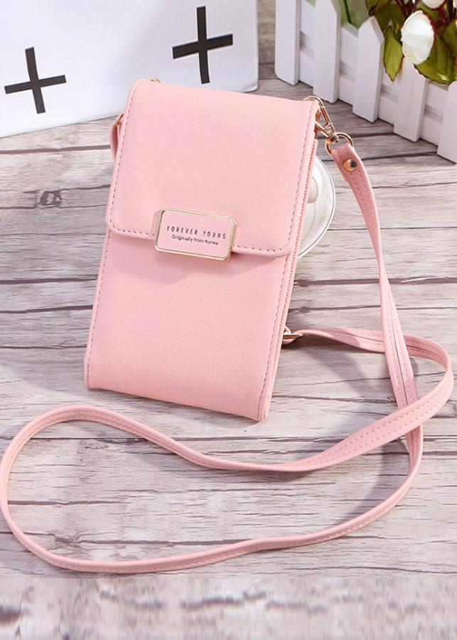 Túi đeo điện thoại túi đeo chéo nữ M001 chất liệu da Pu mềm sang trọng
