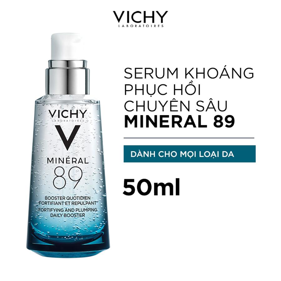 Bộ Dưỡng Chất (Serum) Khoáng Phục Hồi Chuyên Sâu Vichy Mineral 89 50ml