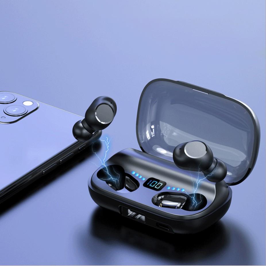 Tai nghe bluetooth JS2 âm thanh vòm trung thực, thiết kế đẹp mắt mới lạ, giao diện cảm ứng thông minh- Hàng nhập khẩu