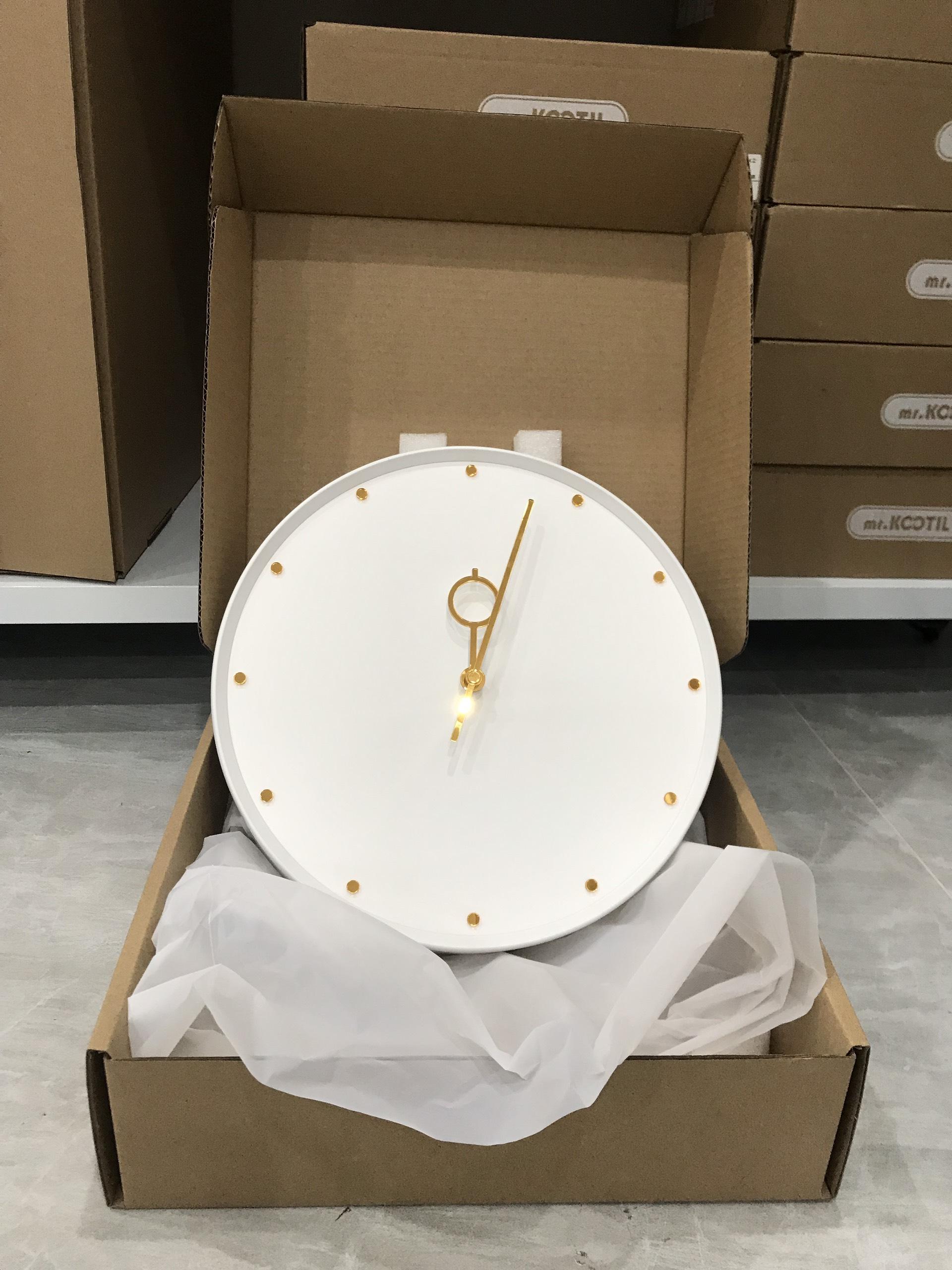 Đồng hồ treo tường trang trí decor nhà cửa Gold Lucky Wall clock - P0000BAV