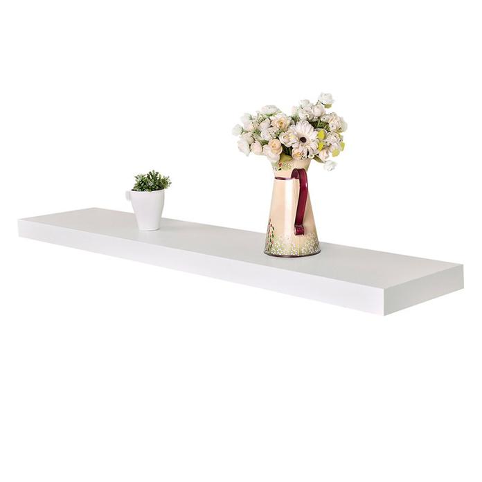 Kệ gỗ treo tường thanh ngang giá đỡ âm chắc chắn SIB KT241 (Màu trắng)