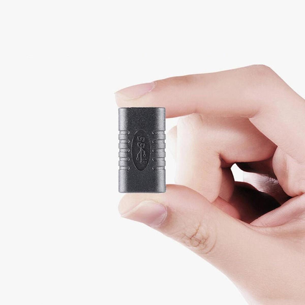 Đầu nối USB Type C 2 đầu cái - Đầu nối USB Type C Female To Female - Hàng nhập khẩu