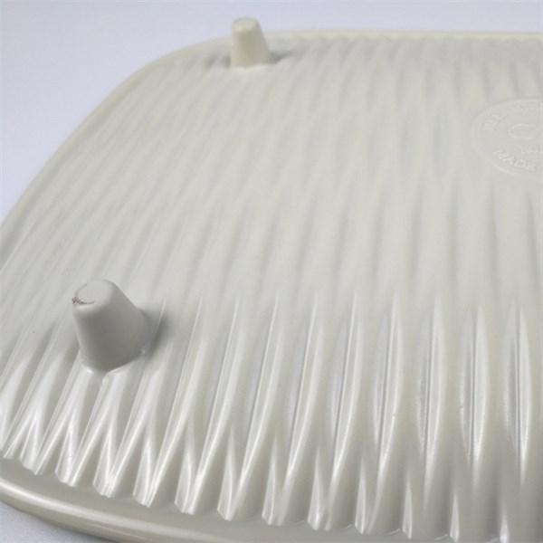 Đĩa nhựa chữ nhật trang trí vân giả mây GS0161