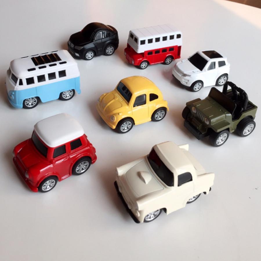 Bộ 8 Ô Tô Mô Hình Bằng Sắt  MINI CAR - Đồ Chơi Cho Bé Trai