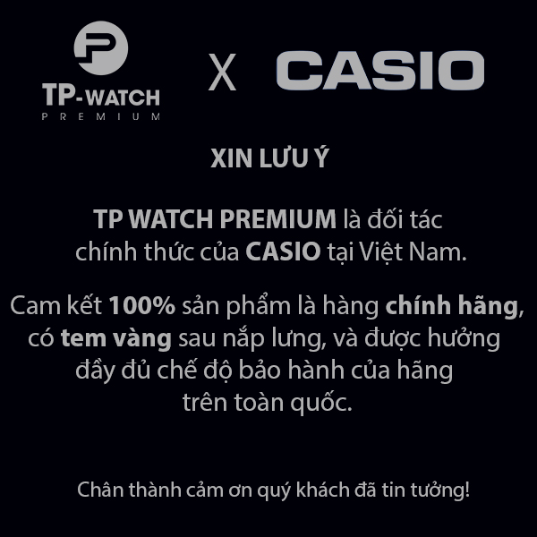 Đồng hồ unisex dây kim loại Casio A159WAD-1DF