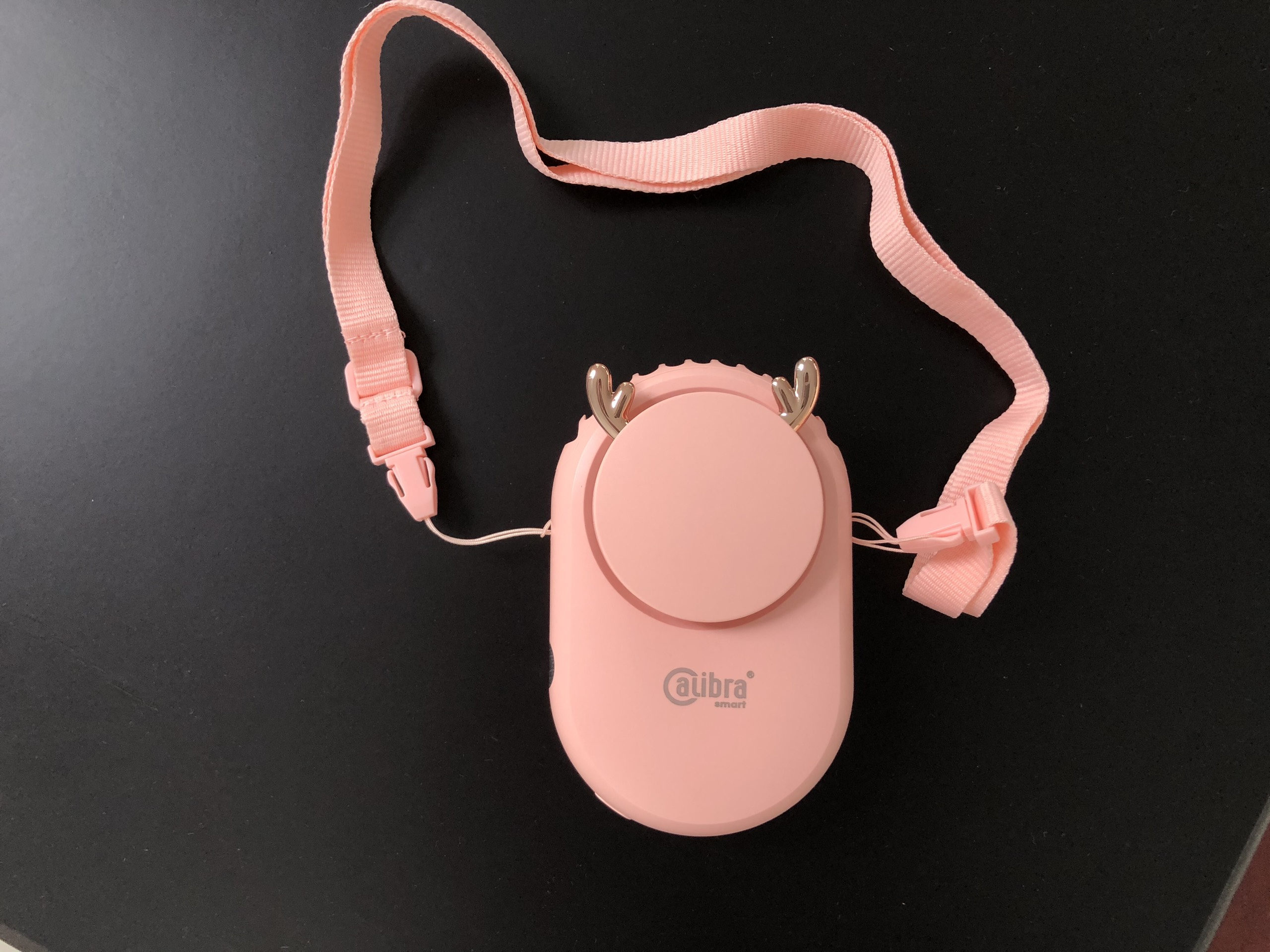 Quạt mini chính hãng Calibra CQ-E888- Quạt đeo cổ