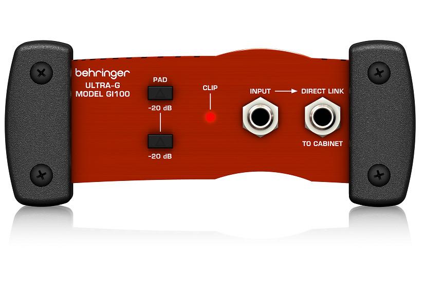 Behringer Ultra-G GI100 Professional Battery/Phantom Powered DI-Box with Guitar Speaker Emulation-Hàng Chính Hãng