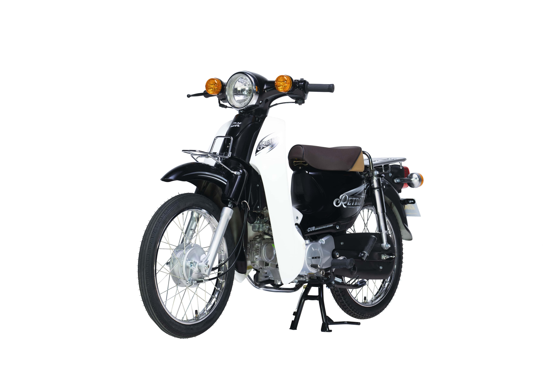 Xe Máy 50cc DK Retro - Màu Đen