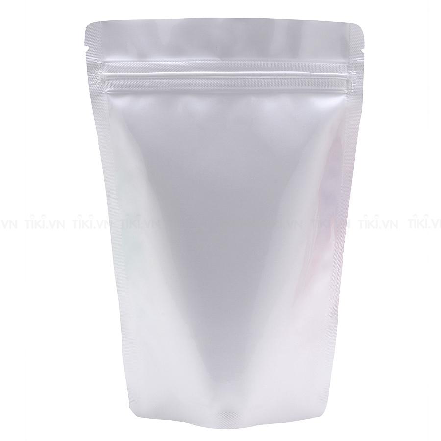 Túi zip mặt trong mặt bạc đáy đứng 20x28cm (1kg)