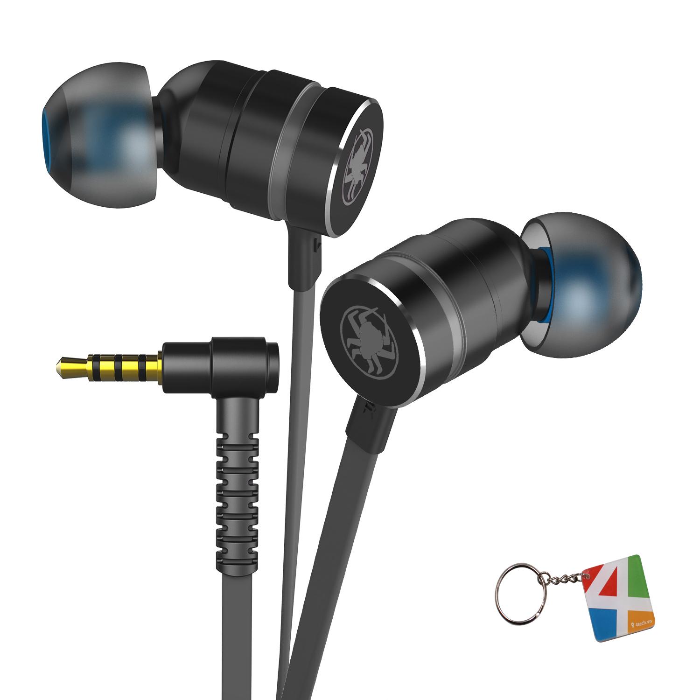 Tai nghe headphone chính hãng Plextone, tai nghe game thủ chuyên nghiệp nghe nhạc tốt thiết kế in ear nhét tai giúp chống ồn, tăng cường Bass - Hàng Chính Hãng.