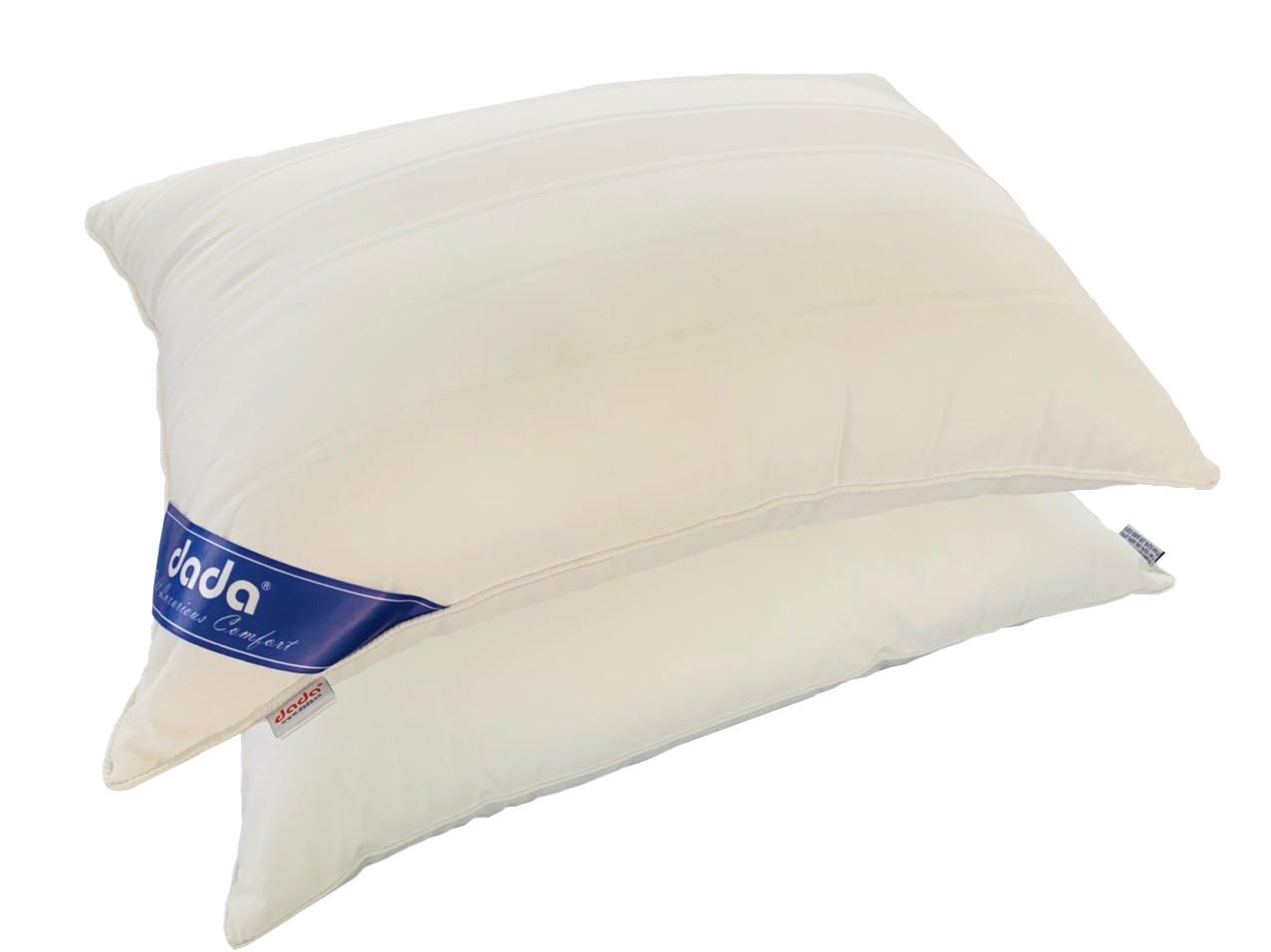Đôi ruột gối, combo ruột gối nằm DADA  loại VIP  chất liệu Microfiber sản xuất theo dây chuyền công nghệ cao( Tặng kèm áo gối)- Hàng Chính Hãng