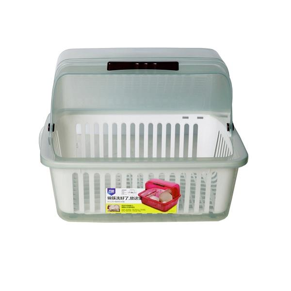 Khay úp bát đĩa nhà bếp cao cấp size L (Màu ngẫu nhiên)