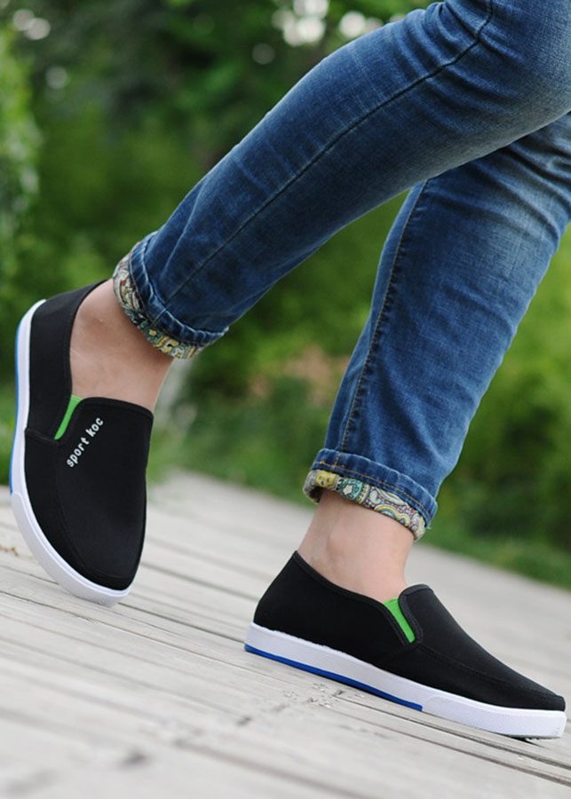 Giày Lười Vải Nam - cv07