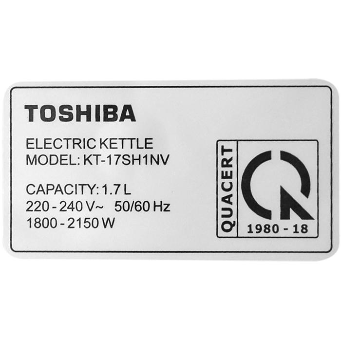 Bình Đun Siêu Tốc Toshiba KT-17SH1NV (1.7 Lít) - Hàng Chính Hãng