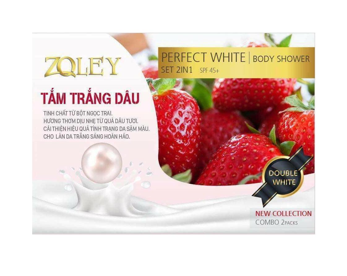 Tắm trắng dâu tây Zoley