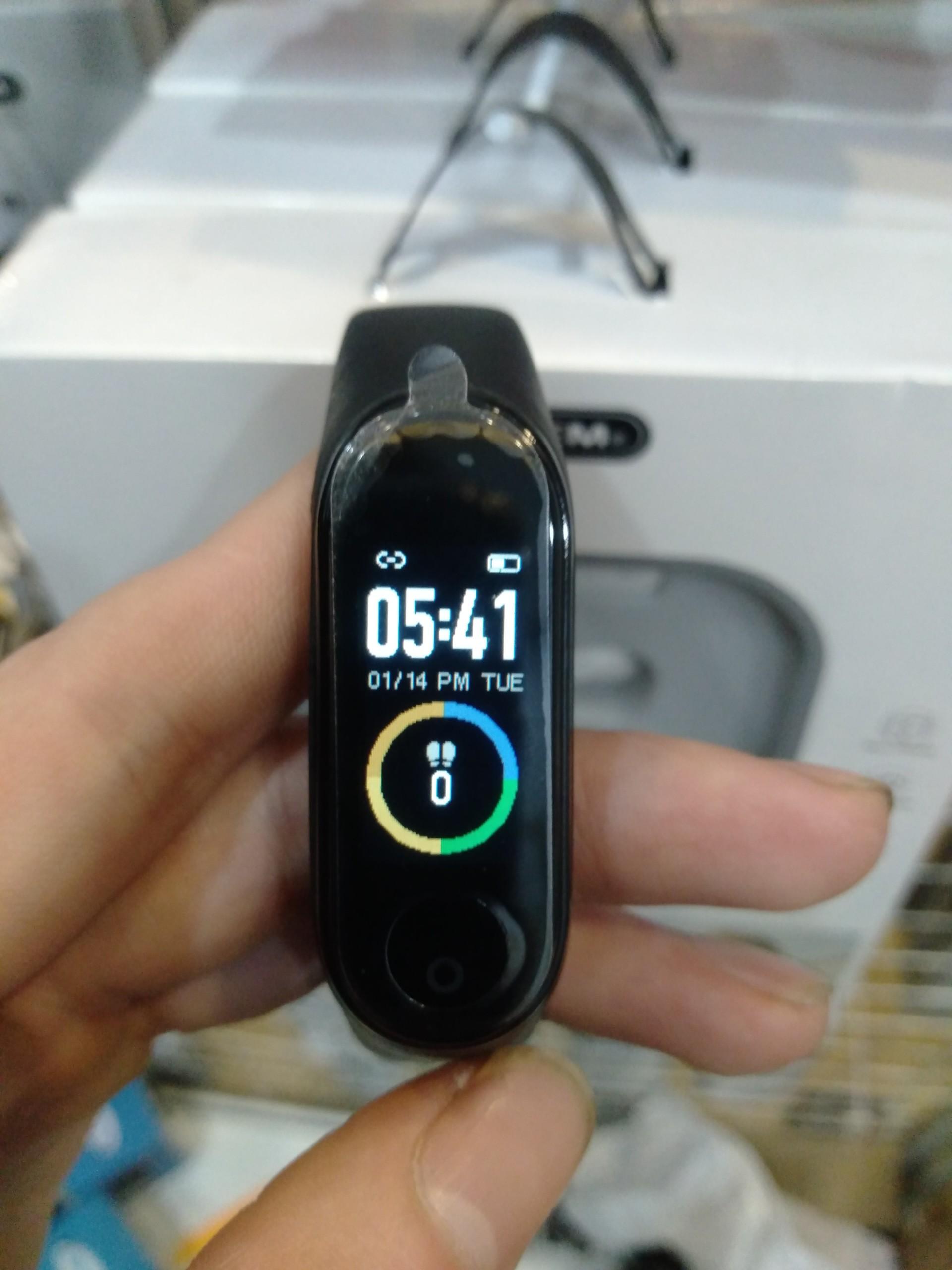 Đồng hồ thông minh thể thao Smart Bracelet M4 đo bước chân, quãng đường, nhận thông báo cuộc gọi, tin nhắn chống nước cực chất