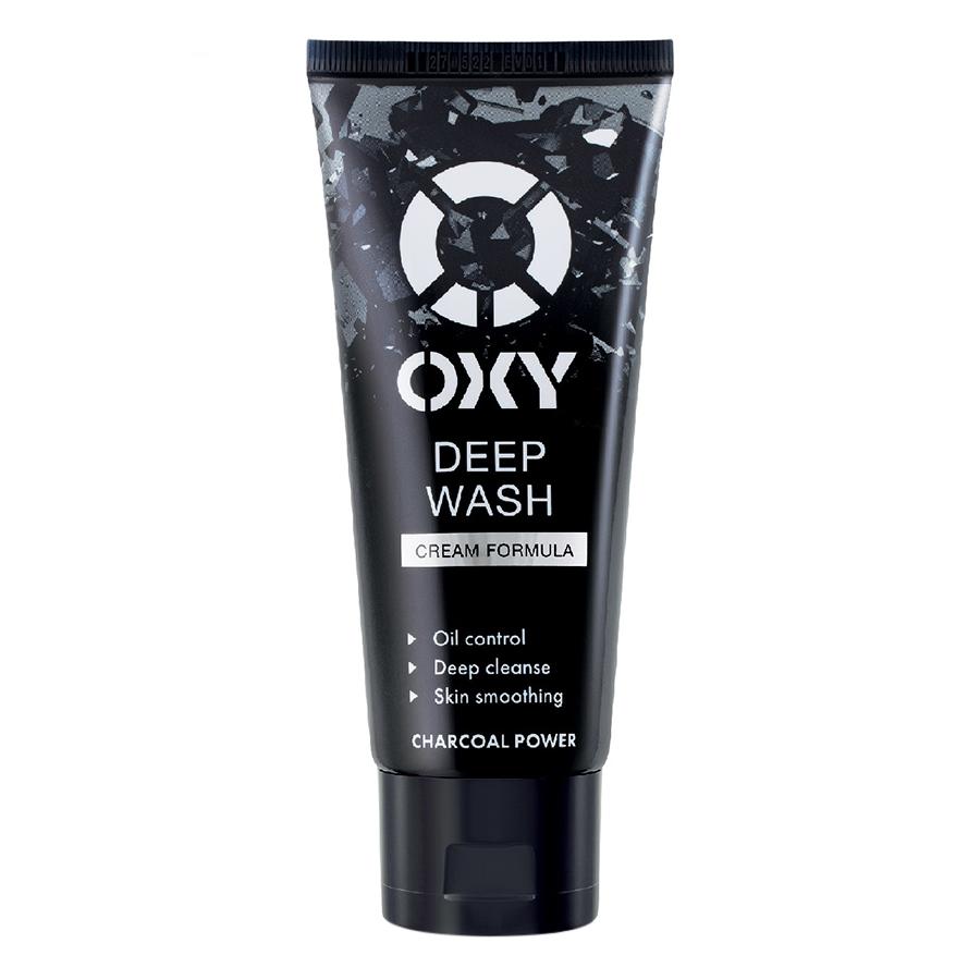 Kem Rửa Mặt Sạch Sâu Oxy Deep Wash (100g)