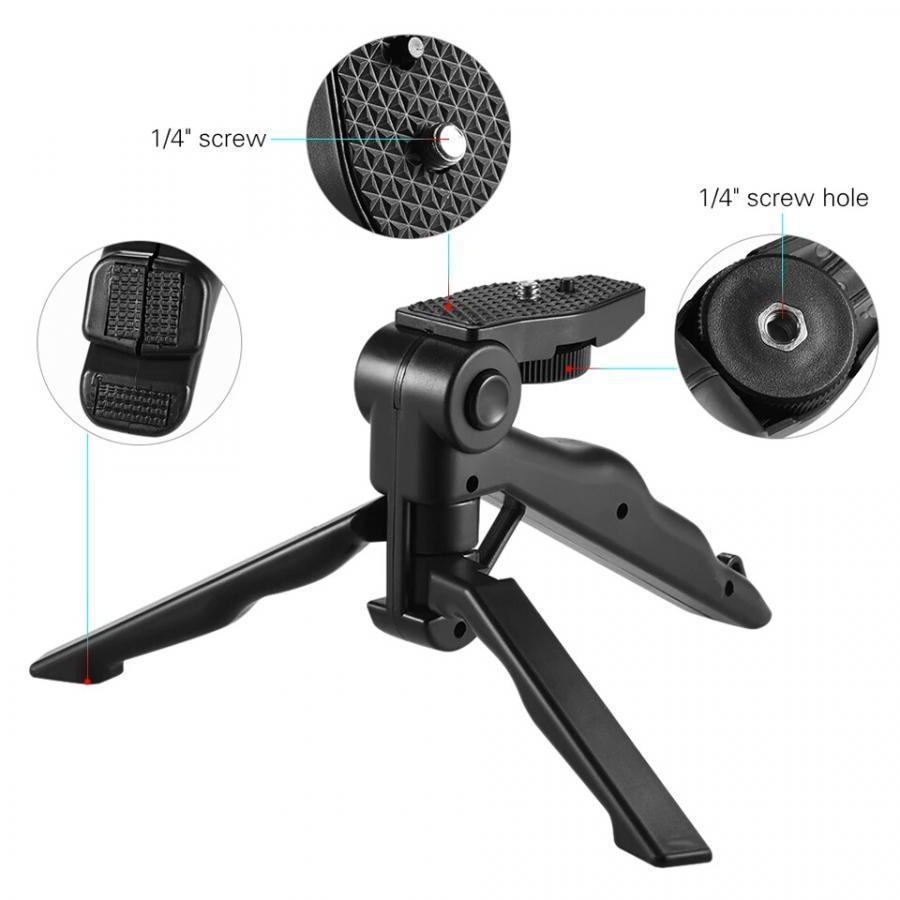 Chân đế mini- thiết bị ổn định cầm tay cho máy ảnh và điện thoại