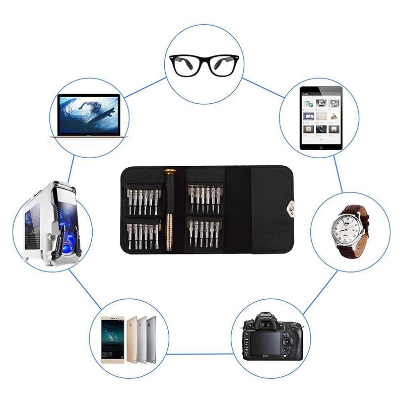 Bộ dụng cụ tháo mở và sửa chữa điện thoại di động, laptop, máy tính bảng 46 in 1 Mai Lee - Hàng chính hãng