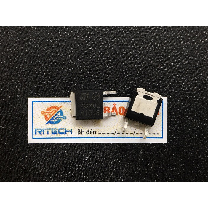 Combo 10 chiếc 78M05, L78M05CDT TO-252 5V 0.5A