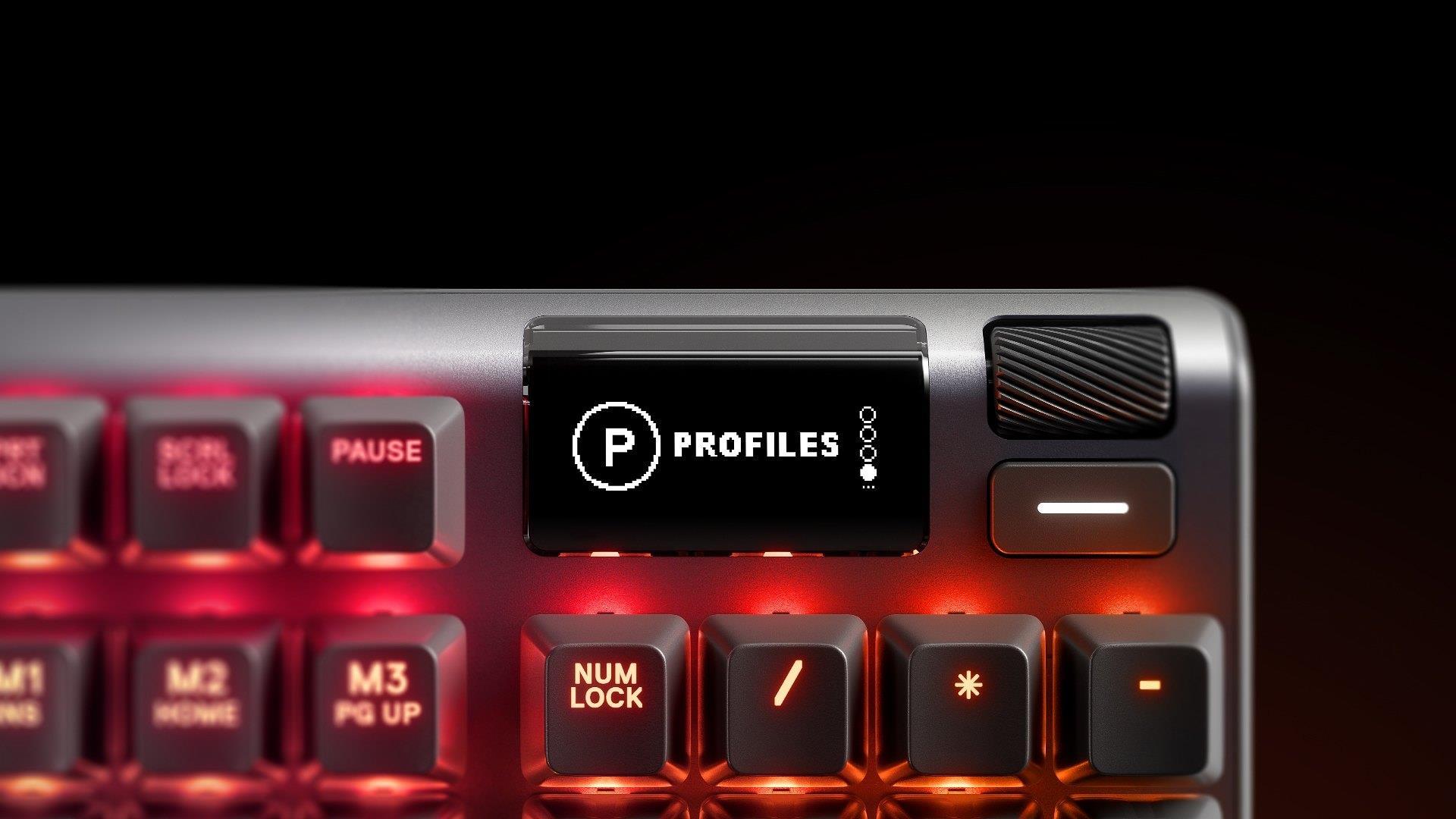 Bàn phím cơ SteelSeries Apex Pro - Hàng chính hãng