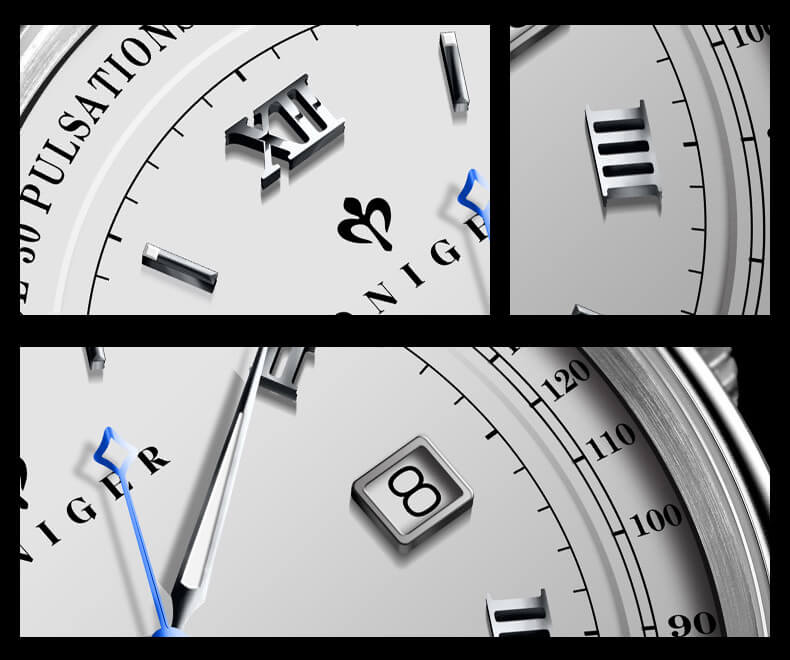 Đồng hồ nam chính hãng Poniger P3.05-2