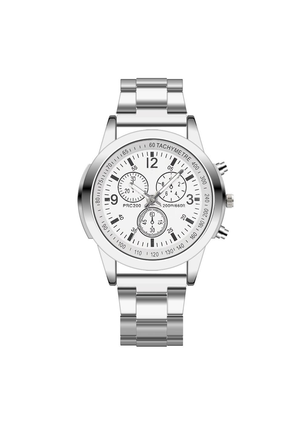 Đồng hồ nam cao cấp dây đeo kim loại lịch lãm DH104
