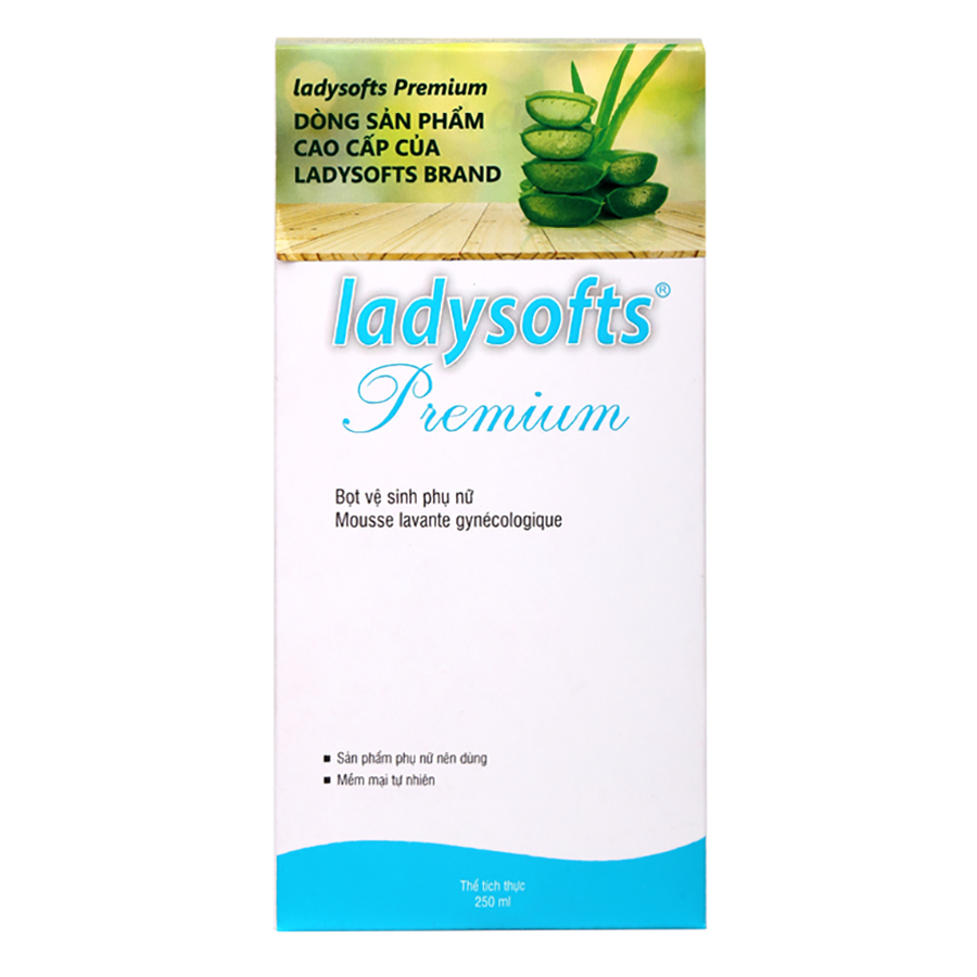 Combo Bọt Rửa Phụ Khoa Cao Cấp Ladysoft Premium 250ml + Ayame Day By Day 200ml