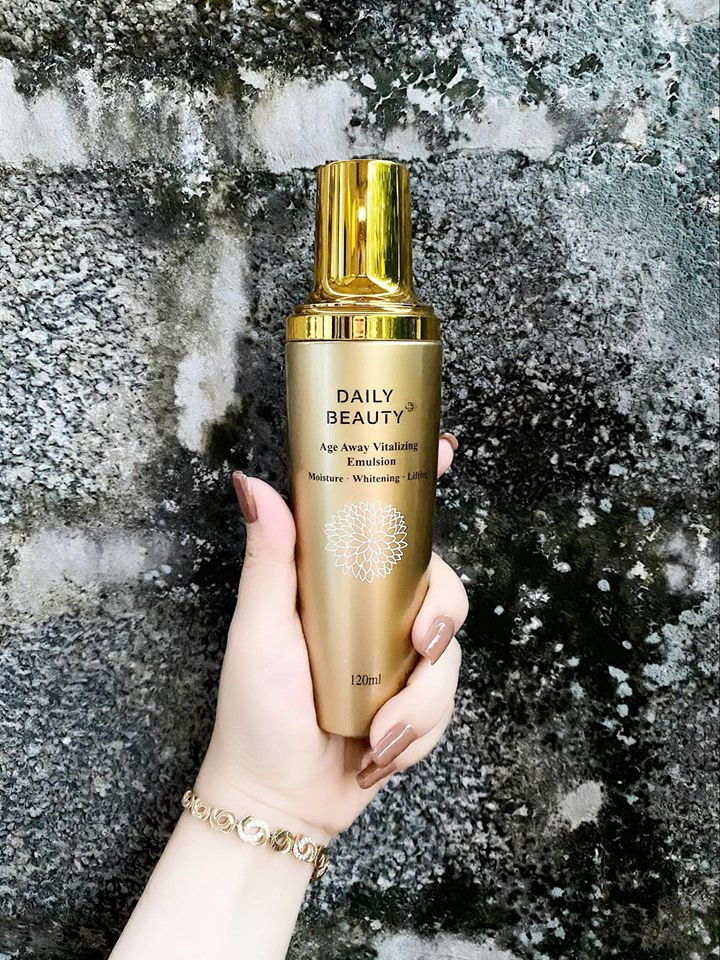 Bộ sản phẩm dưỡng da Daily Beauty Age Away Vitalizing Đánh Thức Thanh Xuân của R&B Việt Nam độc quyền phân phối sản phẩm chính hãng Hàn Quốc