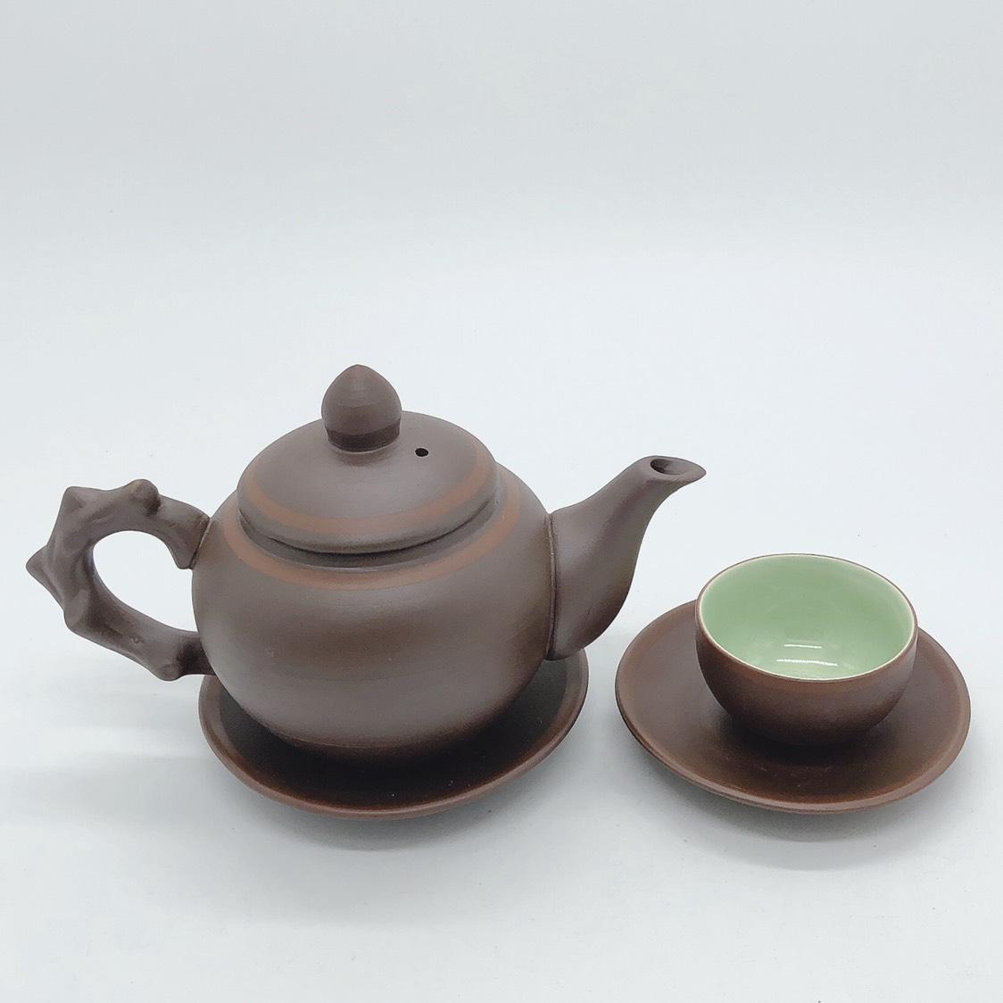 Bộ ấm trà / Bộ bình trà gốm phúc đức