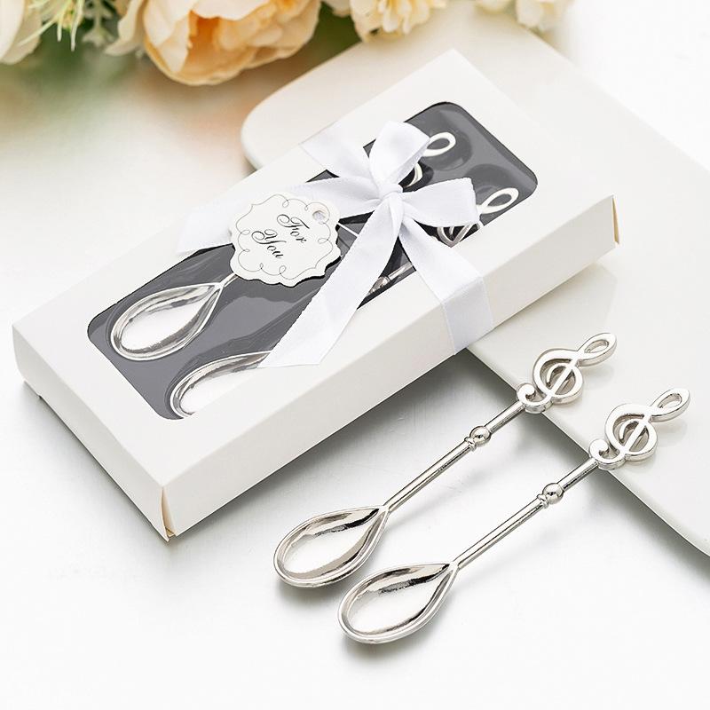 Combo 2 muỗng quà tặng hội thảo, quà cưới IM2252-INOX bạc