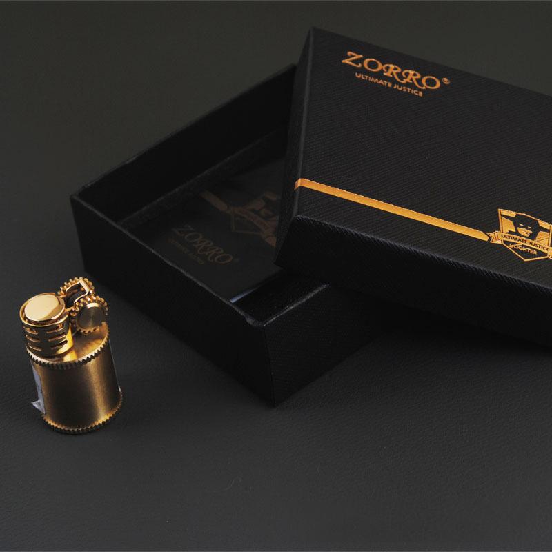 Combo Hột Quẹt Bật Lửa Xăng Đá Mini Z583 Có Buồng Chắn Gió Cực Tốt + Tặng Trọn Bộ Bấc Đá Cao Cấp Chuyên Dụng Cho Bật Lửa Xăng Đá