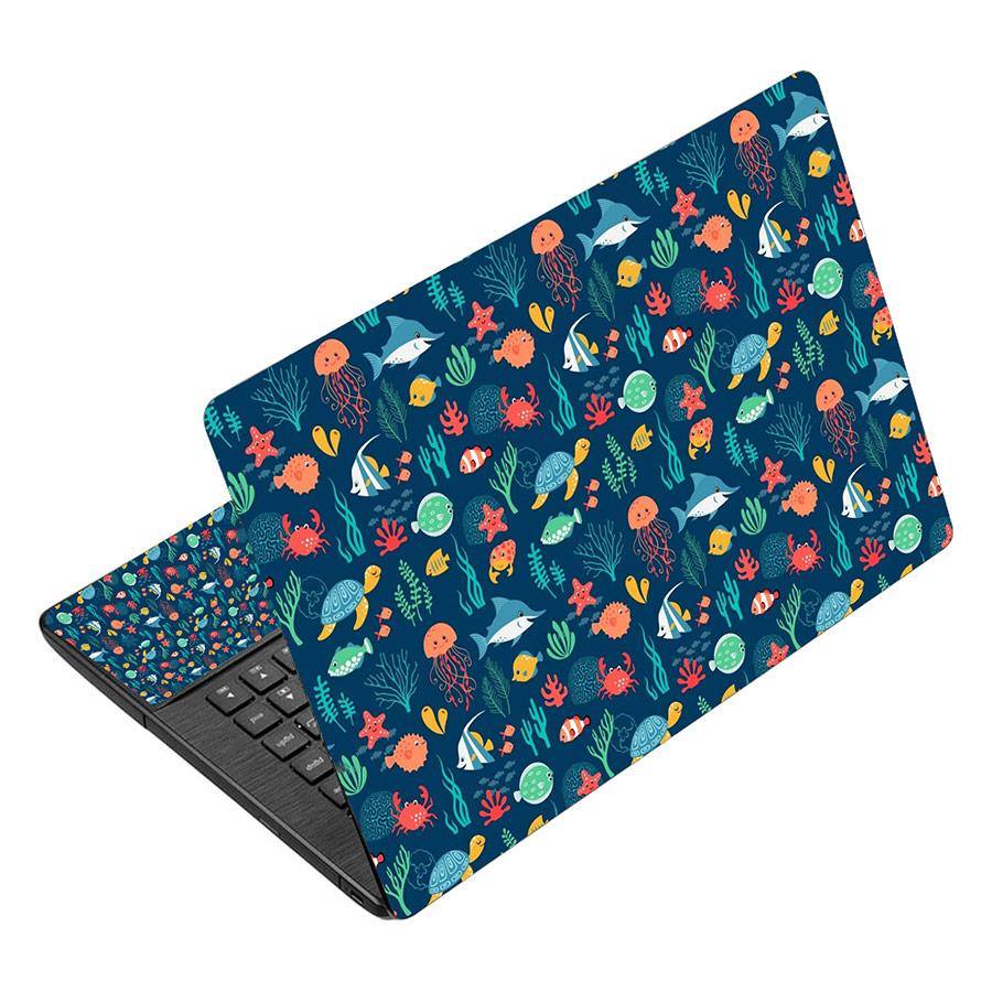 Miếng Dán Decal Dành Cho Laptop - Hoa Văn LTHV-241