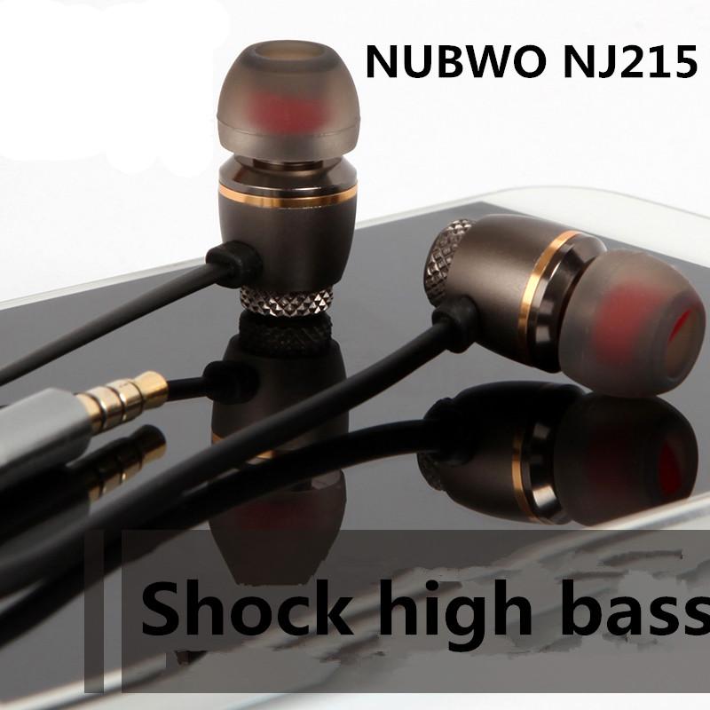 Tai nghe Super Bass Nubwo NJ215 nhét tai thể thao - Hàng Chính Hãng