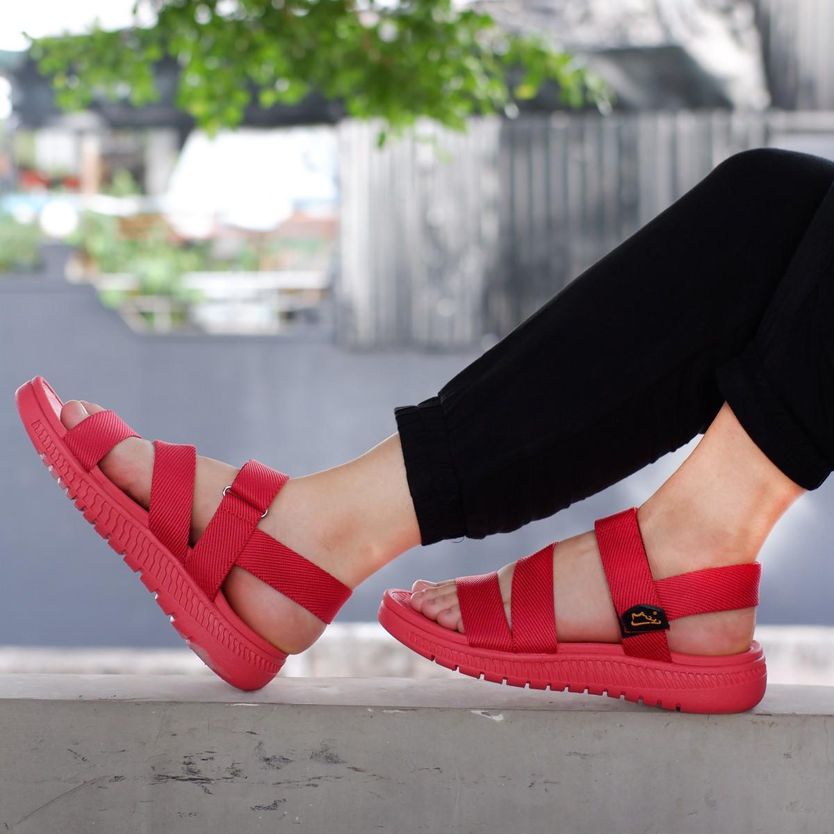 Giày xăng đan nam công nghệ siêu nhẹ hiệu MOL thích hợp mang đi học MS2R