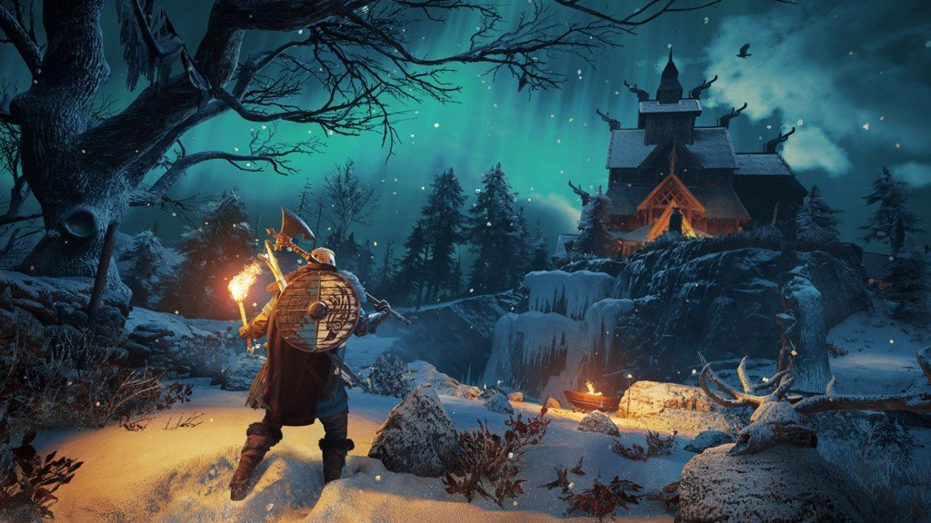 Đĩa Game PS4 Assassin's Creed Valhalla Hệ US - Hàng Nhập Khẩu