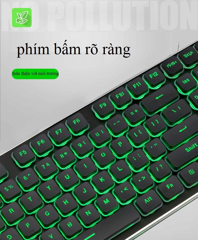 Bộ Bàn Phím + Chuột Không Dây LT6 LANGTU - Hàng Nhập Khẩu