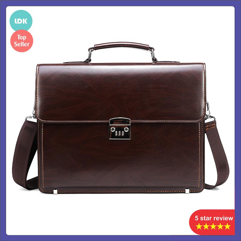 Túi xách khóa số doanh nhân, công sở nam , cặp khóa số nam tối ưu bảo mật , cặp khóa số dành cho công sở , doanh nhân và giáo viên đựng Laptop 14inch và tài liệu