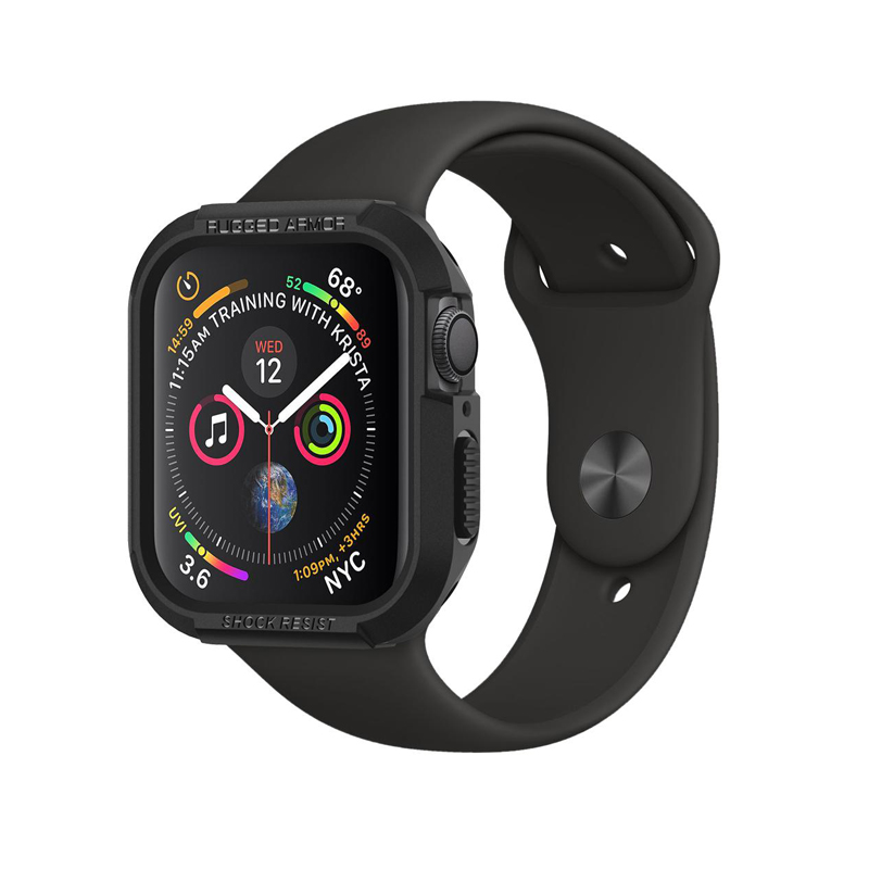 Ốp Apple Watch Series 4 40mm SPIGEN Rugged Armor - Hàng chính hãng