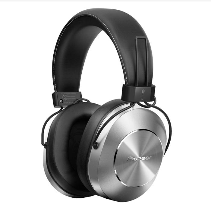 Tai Nghe Bluetooth Chụp Tai Over-ear Pioneer SE-MS7BT Silver - Hàng Chính Hãng