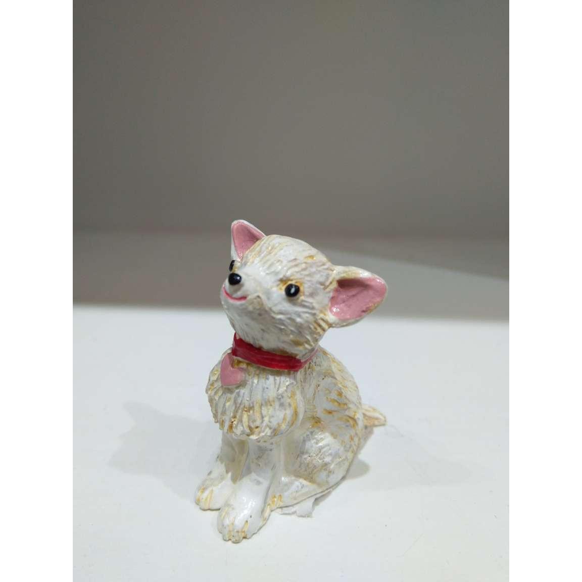 Tượng trang trí phong cách Nhật Bản cún con