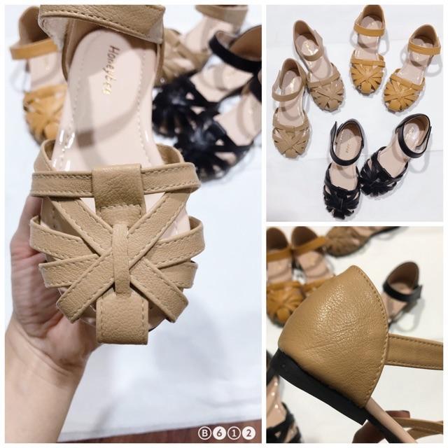 Sandal cho bé gái 00226 sz26-35 màu bò