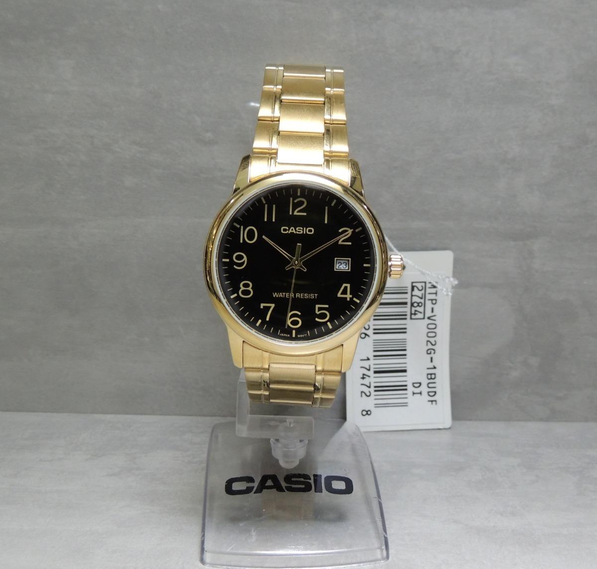 Đồng hồ nam dây kim loại Casio MTP-V002G-1BUDF
