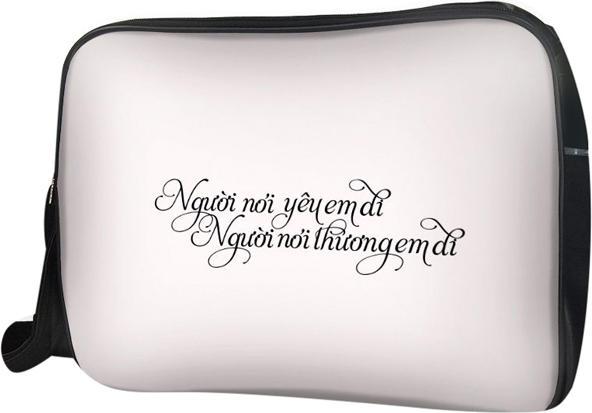 Túi Đeo Chéo Hộp Unisex Người Nói Yêu Em Đi TCTE099 34 x 9 x 25 cm