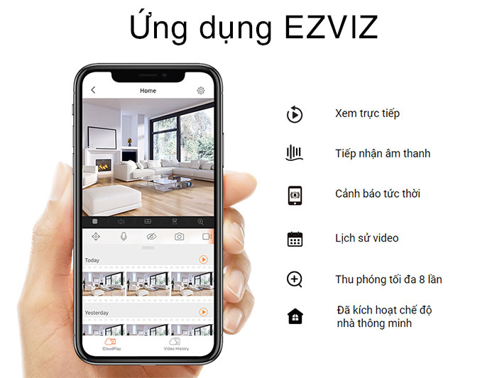 Camera IP Wifi EZVIZ CS-CV310 (C3W 1080P)