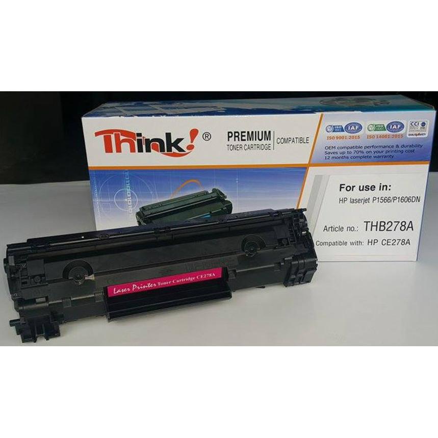 Hộp mực máy in Think HP278A (CE278A) - Hàng Chính Hãng