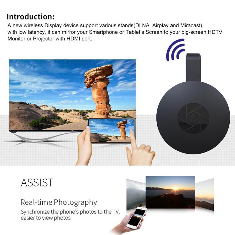 Thiết bị HDMI không dây Wireless Display 1080P MiraScreen G2