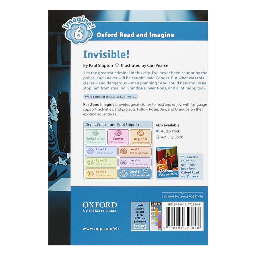 Oxford Read And Imagine Level 6: Invisible Pack