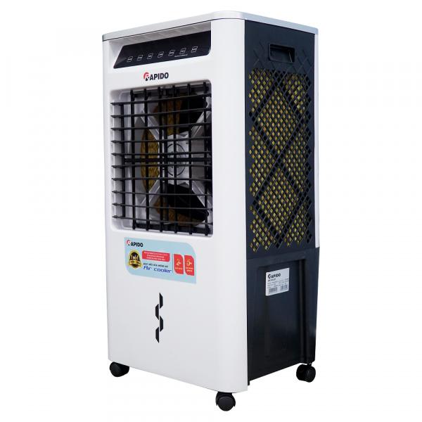Quạt hơi nước, điều hòa không khí cao cấp RAPIDO Turbo 3000-D - Hàng chính hãng