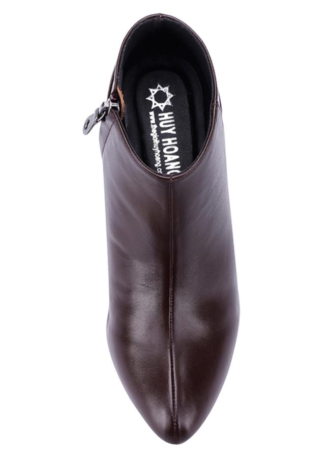 Giày Boot Nữ Da Bò Huy Hoàng HT7038 - Nâu